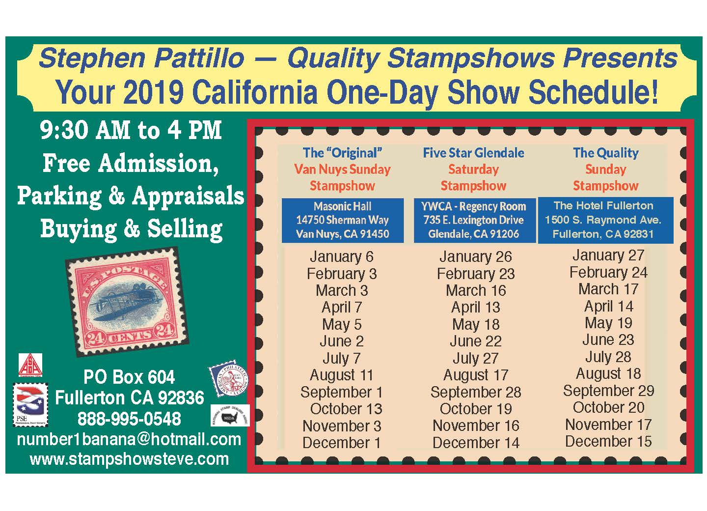 Stephen Patillo - Quality Stampshows